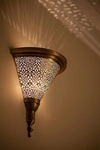 Moroccan sconce indoor wall sconce wall sconce by fezalley