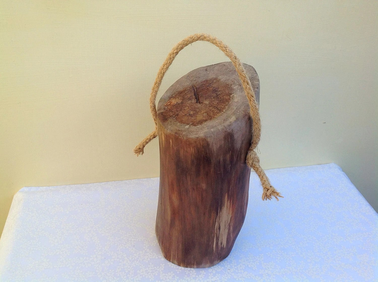 Rustic Door Stopper Driftwood Doorstop Rustic Tree Branch Wood Doorstop Natural