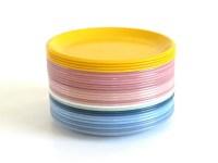 Rubbermaid Plates: Dinner Plates 3840 Luncheon 3838 Plastic