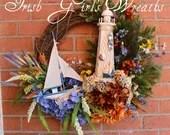 Summer Wreath, New Englan...