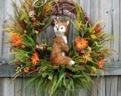 Fox in Summer Meadow Wrea...