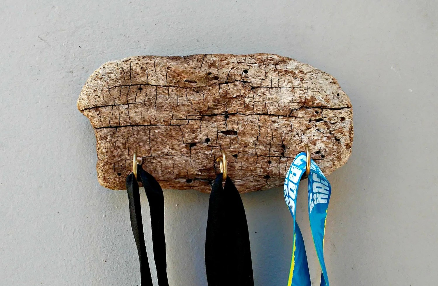 Rustic Key Holder Keys Hanger Driftwood Decor Key Hooks