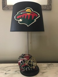 Detroit redwings hockey Lamp with red lights by ...