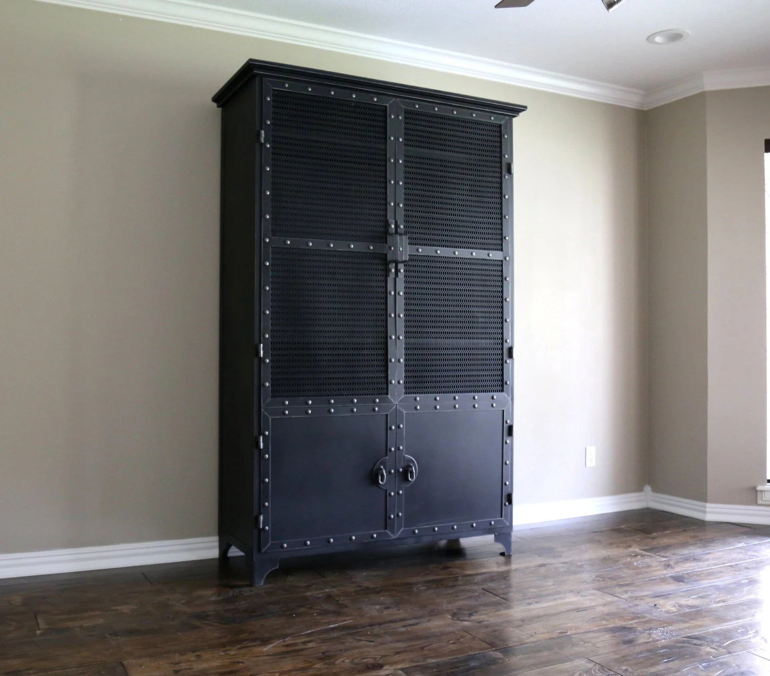 Industrial Wardrobes Modern Industrial Armoire Steel Locker Closet Vintage