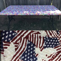 Fitted Picnic Table Cloth Folding Table Cover Fitted Table