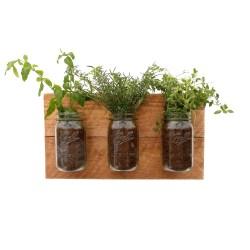 Small Crop Of Wall Mounted Indoor Herb Garden