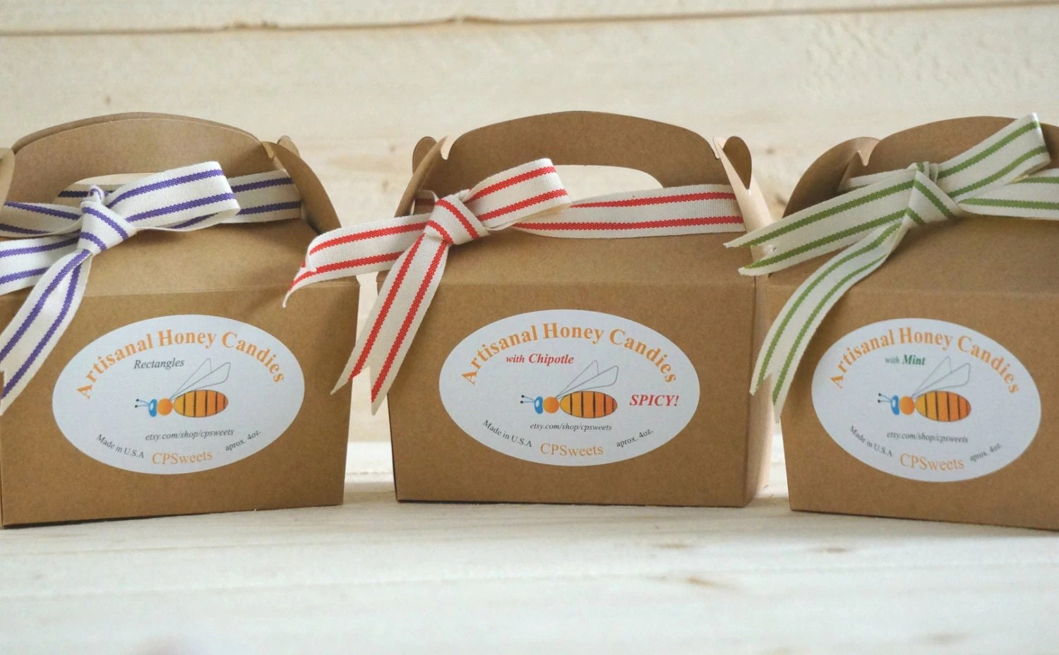 Hard Candy Gift Box Homemade Honey Candy Choose Your By
