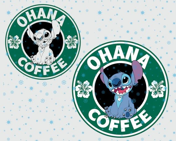 Quotes Wallpaper Zip Disney Ohana Coffee Lilo And Stitch Svg Cutting Esp Vector