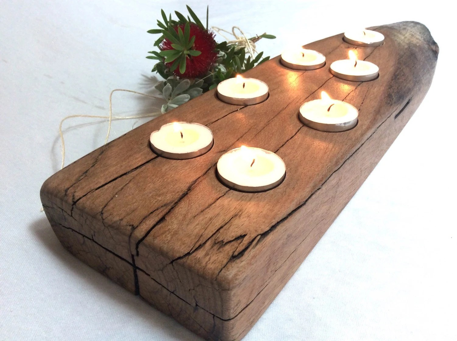 Wooden Candle Holders Australia Christmas Candles Centrepiece Candles Rustic Wooden Candle