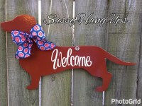 Dachshund Door Hanger Dog Door Hanger Dog Door Decoration