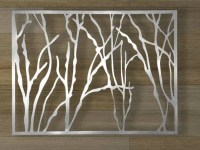 Items similar to Abstract Stainless Steel Wall Sculpture