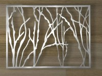 Items similar to Abstract Stainless Steel Wall Sculpture ...
