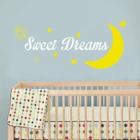 Sweet dreams decal wall decor graphic design decor you by ...