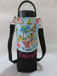 Personalized hydro flask holder / hydro flask carrier