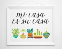Items similar to Mi Casa Es Su Casa
