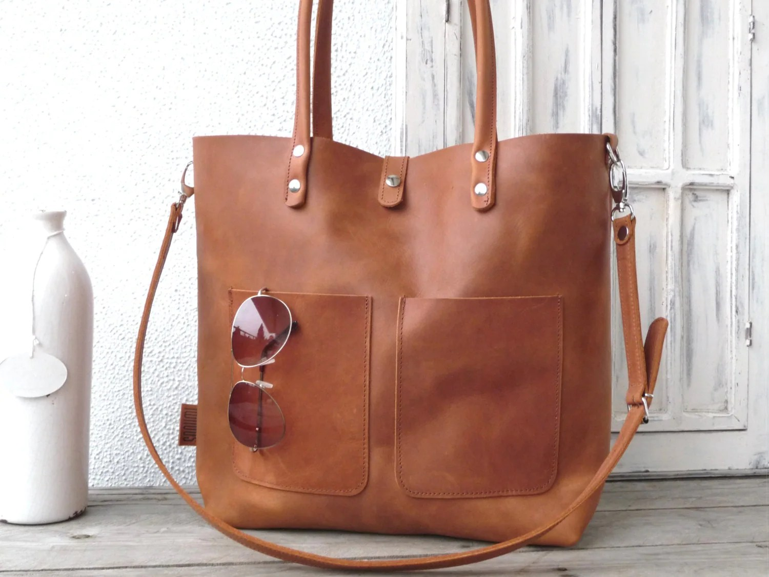 Tote Bags For Uni Leather Bag Large Leather Bag Big Leather Bag Leather Bag