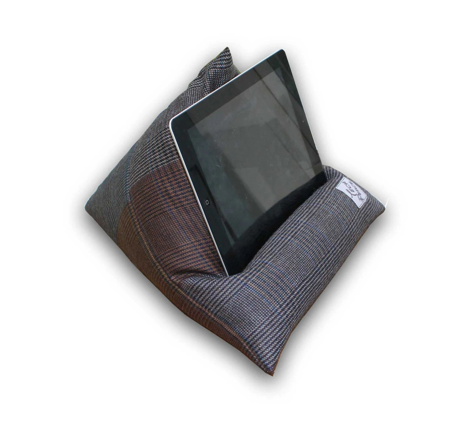 Ipad Pro Stand Tablet Pillow Pure English Wool Kindle Cushion