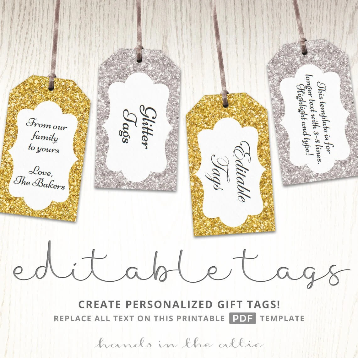 Diy Favor Tags Templates - Costumepartyrun