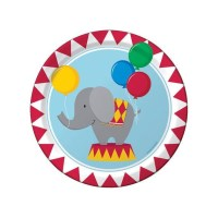 Circus Party, Paper Plates, Party Plates, Carnival Party ...