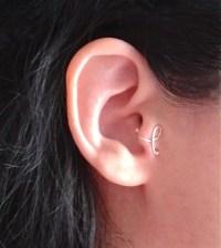 Cartilage earring tragus earring ear cuff no piercing
