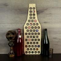 Beer Bottle Cap Holder Wood Beer Cap Display Beer Cap Wall