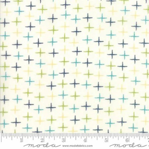 """SUNDAY SUPPER by Sweetwater for Moda Fabrics - 108"""" Quilt Backing - Porcelain"""