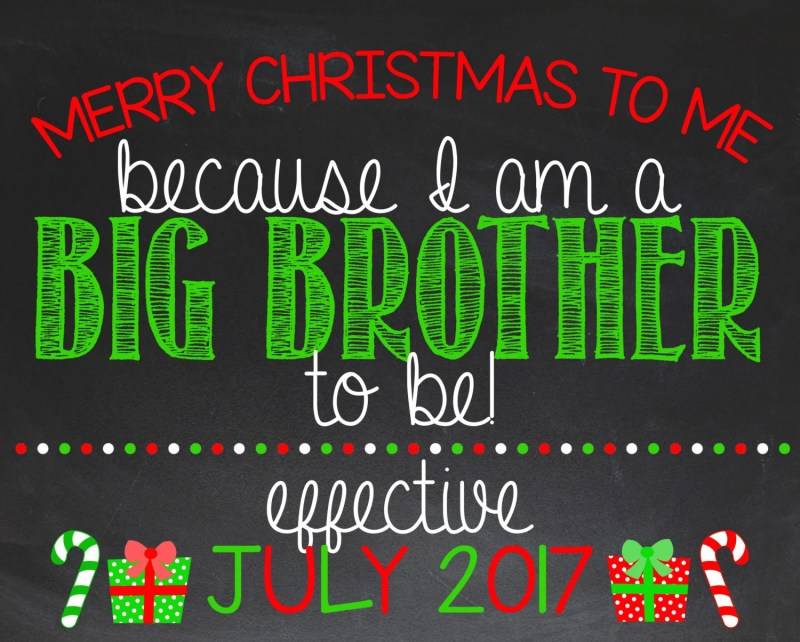 Large Of Christmas Pregnancy Announcement