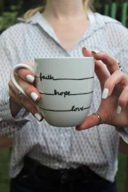 Simple Coffee Love Hope Faith Coffee Love Hope Faith Mug Coffee Mugs Target Coffee Mugs Philippines
