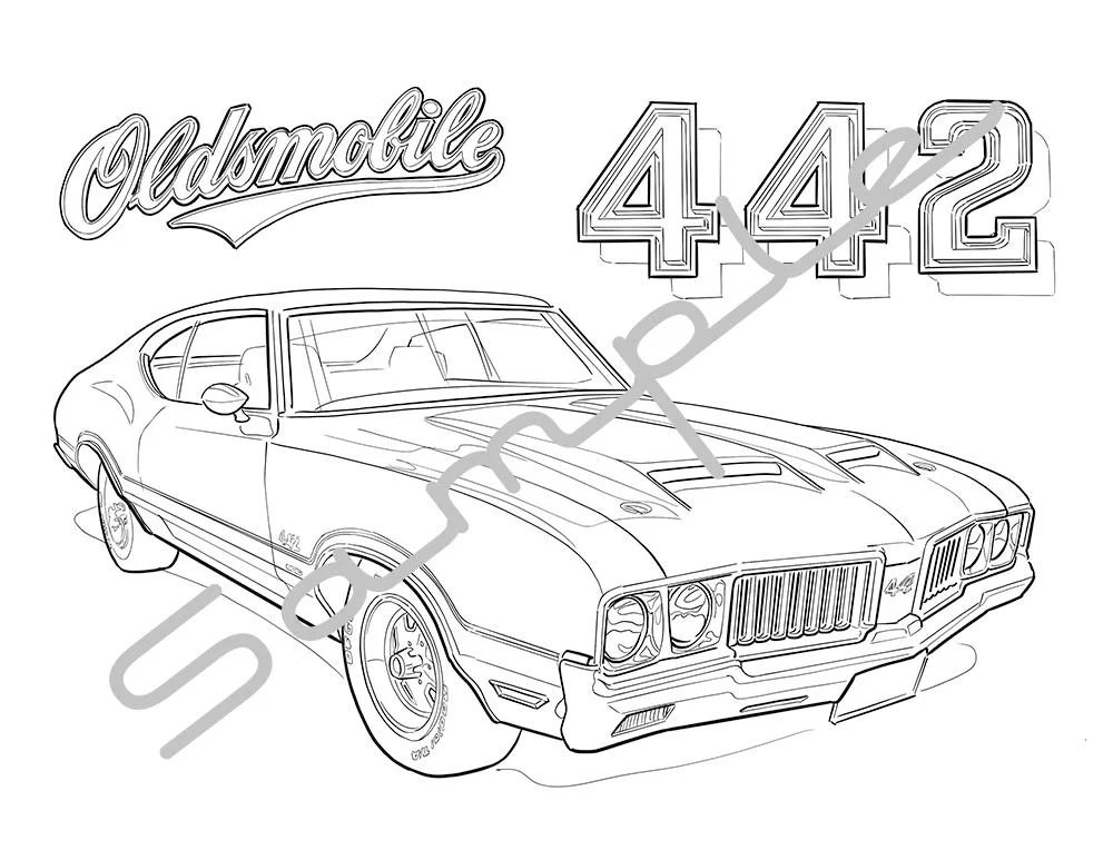 1968 oldsmobile cutlass bedradings schema