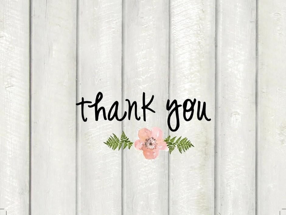 Digital thank you notes d...