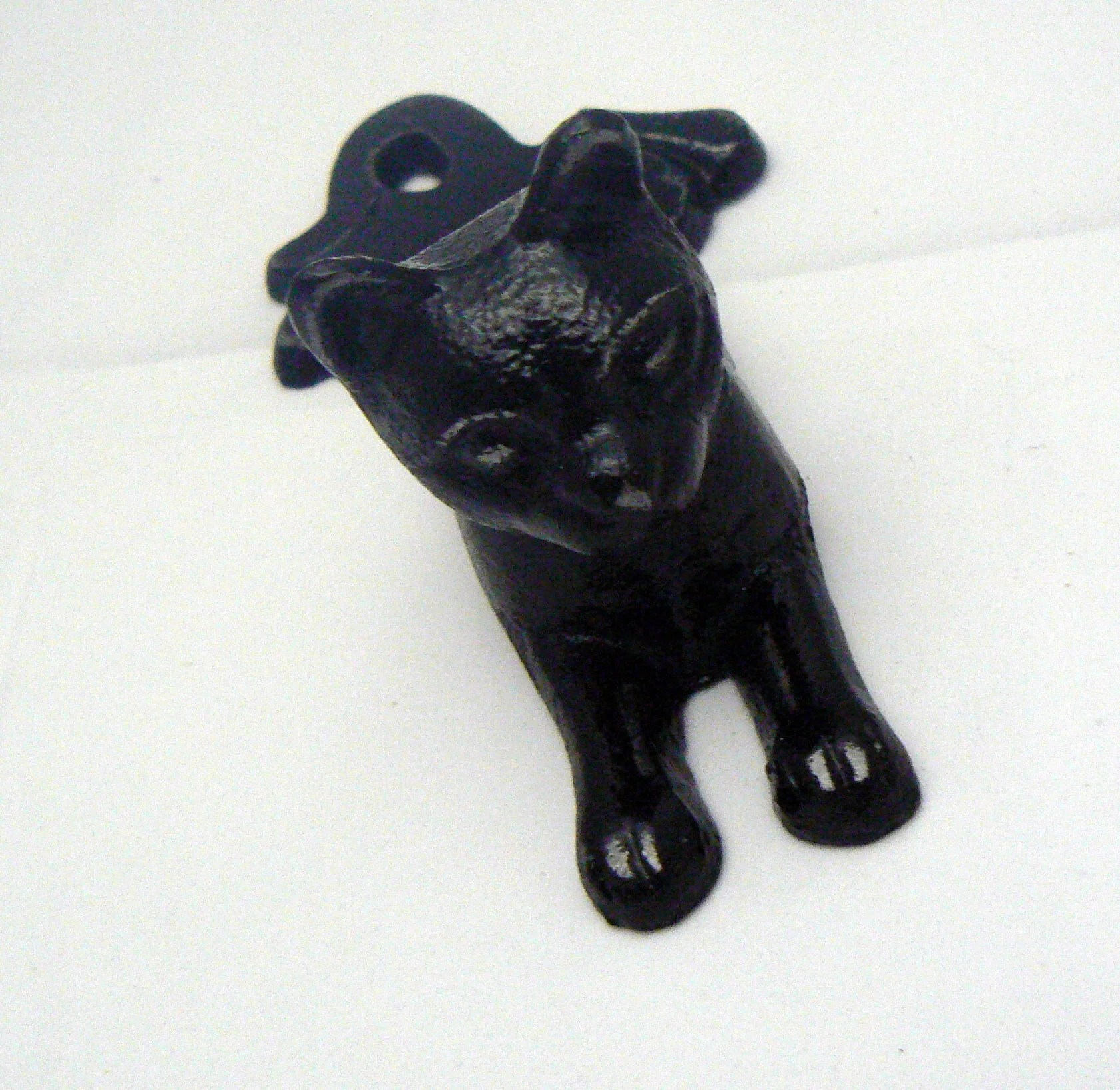 Cat Door Stops Cat Door Stop Cast Iron Shabby Chic Black Kitty Kitten