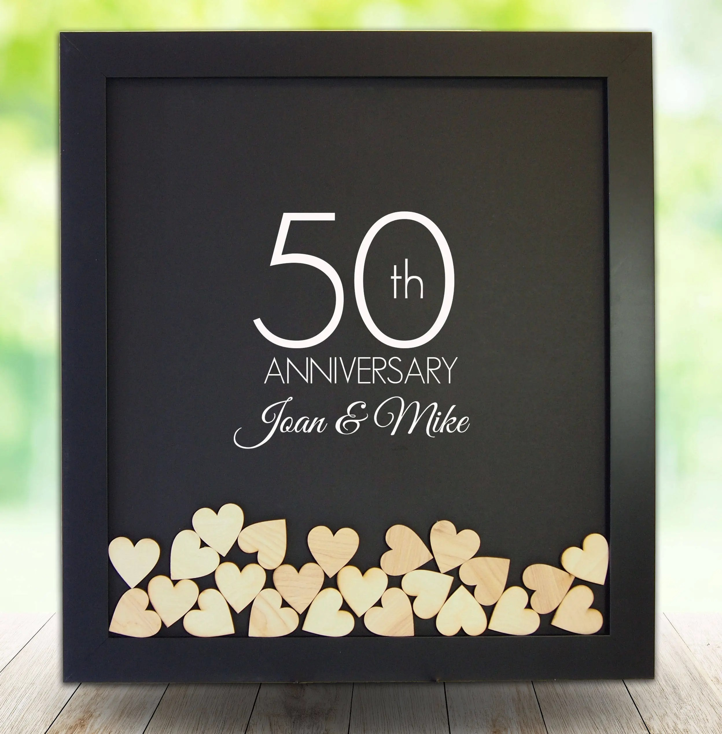 Cushty Anniversary Gifts Frame Guest Book Wedding Gift Gensilver Anniversary Gifts Frame Guest Book Wedding Gift 50th Anniversary Gifts Husband 50th Anniversary Gift Baskets gifts 50th Anniversary Gift