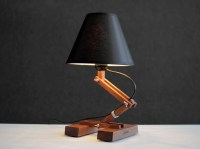 Wood Lamp Industrial Table Lamp Bedside Lamp Modern Table