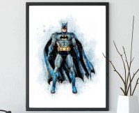 Batman wall art | Etsy