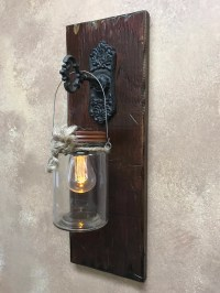 Wall SCONCE Edison Battery Operated LED Light Bulb in ...
