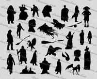 Harry Potter Silhouette | www.pixshark.com - Images ...