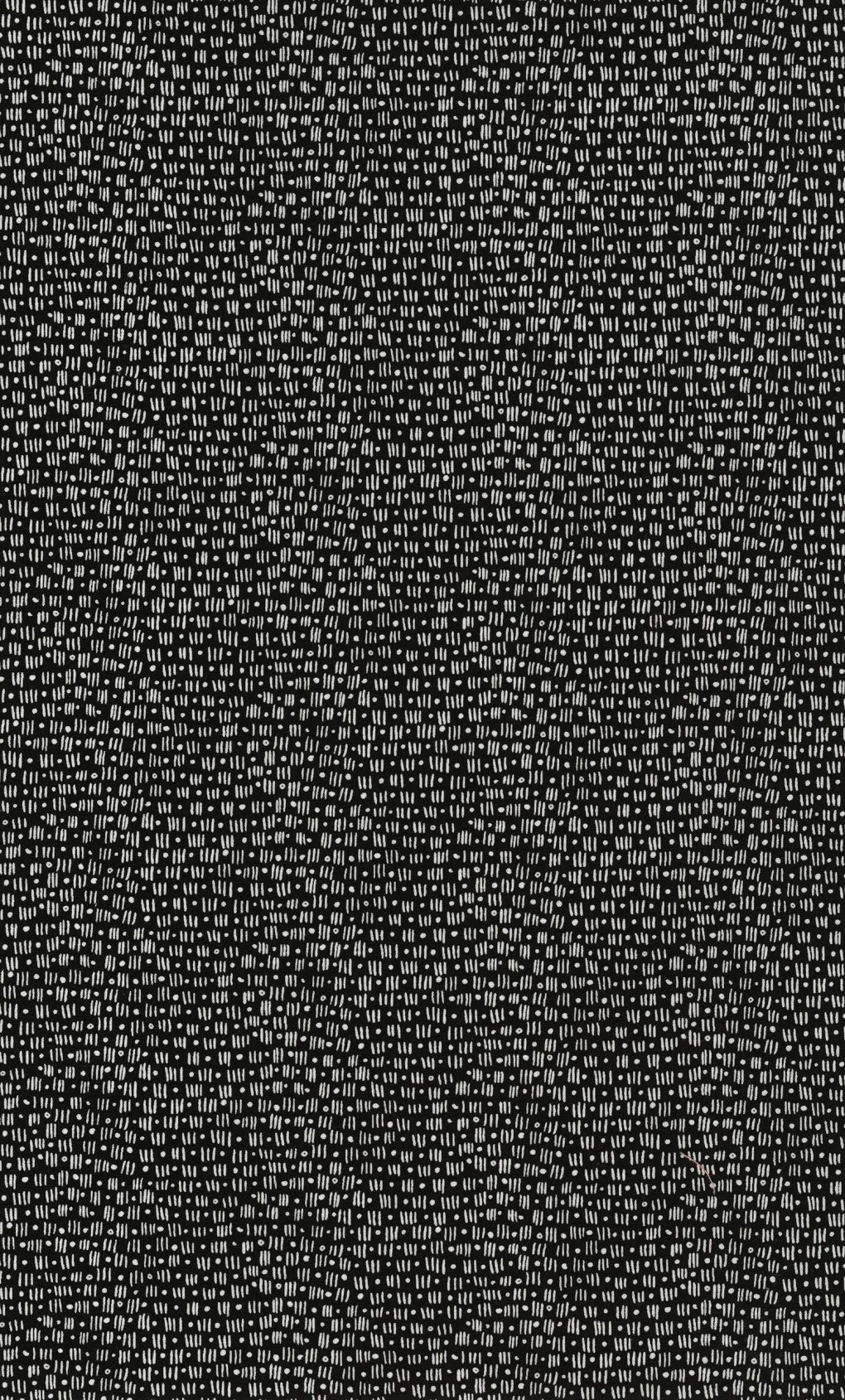 Vanessa Vargas Wilson Fabric Collection - Kinfolk - Mini Lines and Dots Black