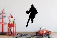 Basketball wall decal | Etsy