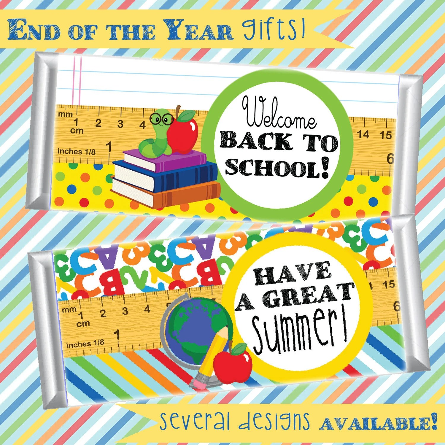 Teacher Gifts; End of the School Year Gifts; Back to School Gifts - free printable welcome back sign