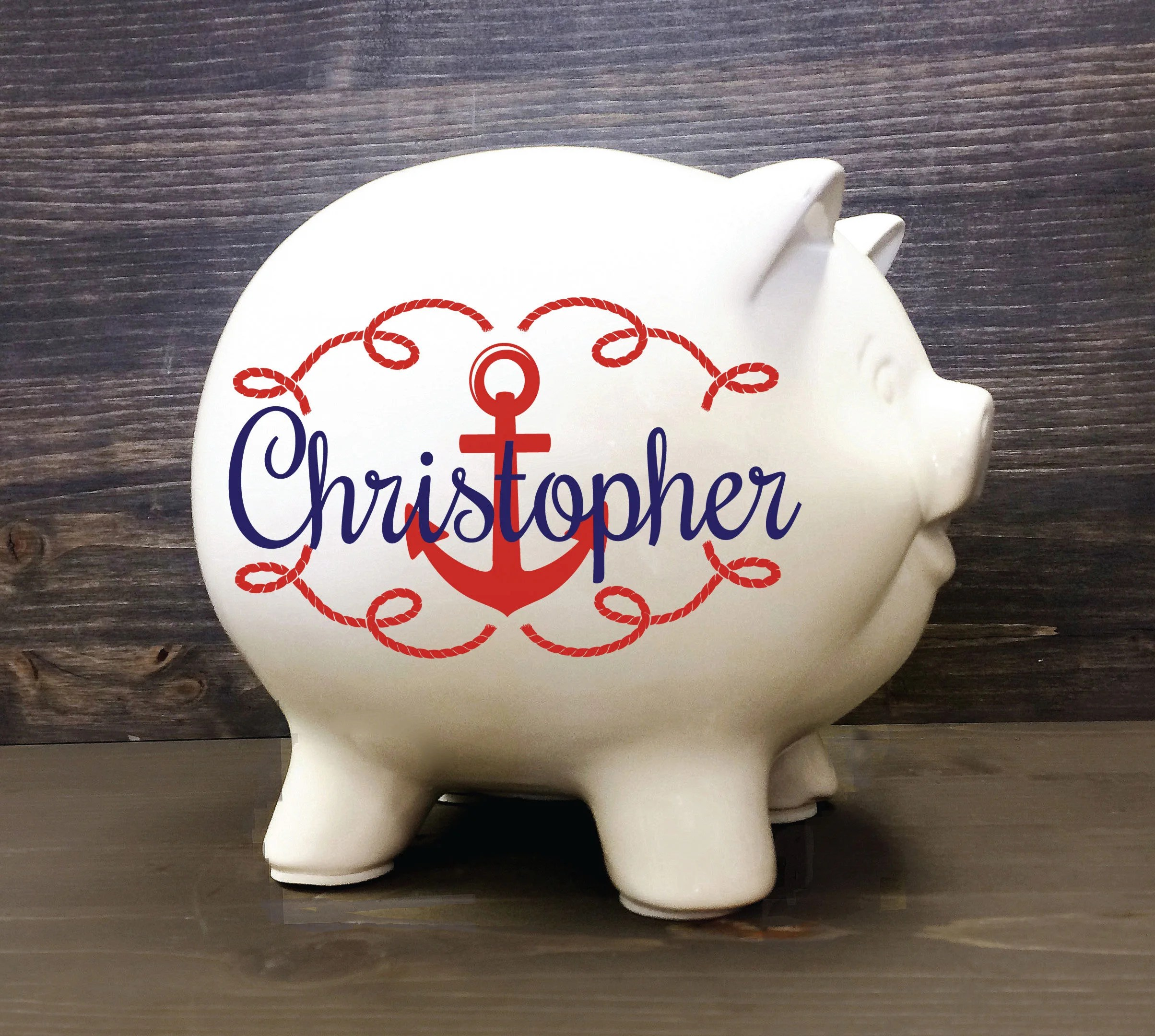 Cheap Piggy Banks For Sale Nautical Piggy Bank 5 5 Custom Ceramic Piggy Bank