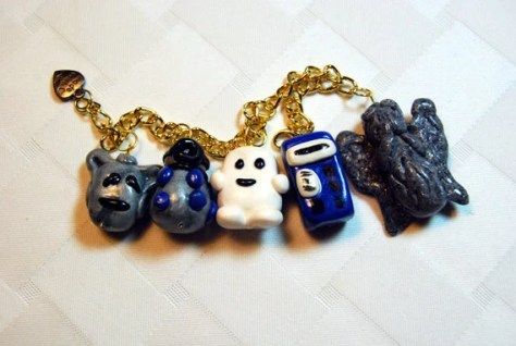 Doctor Who Geeky Charm Bracelet, by ProPortional (AKA, @omnomnomstudios)