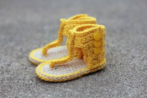 Los Cleopatra - Botines Gladiator Sandals bebé de estilo,