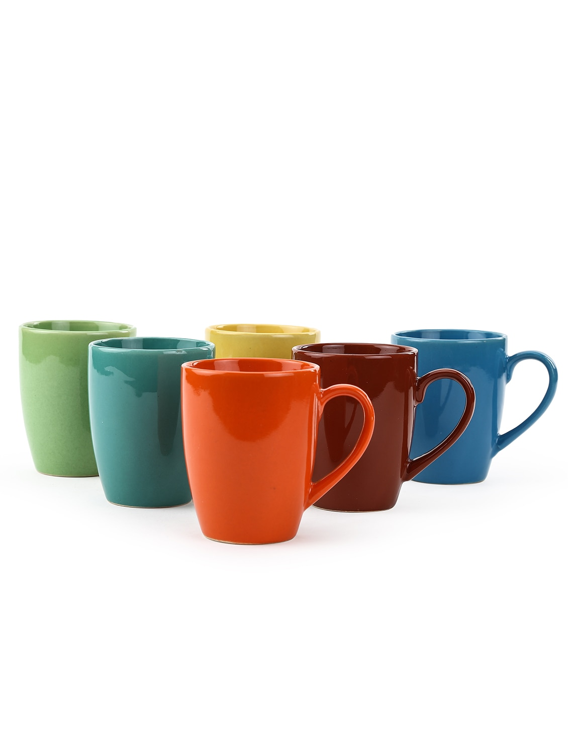 Large Coffee Mug Sets Buy Multi Color Large Mugs Set Of 6 By Kittens Online