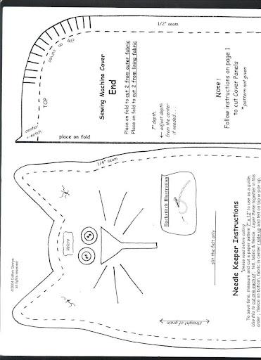 Радикал-Фото Картинка Одёжка для швейной машины Pinterest Чехлы - cover note