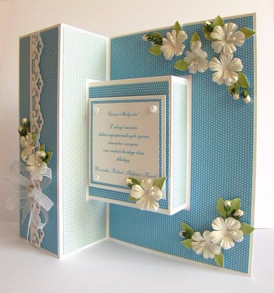 TUTORIAL - Double Diamond Fold Card by Beccy includes a - birthday card layout