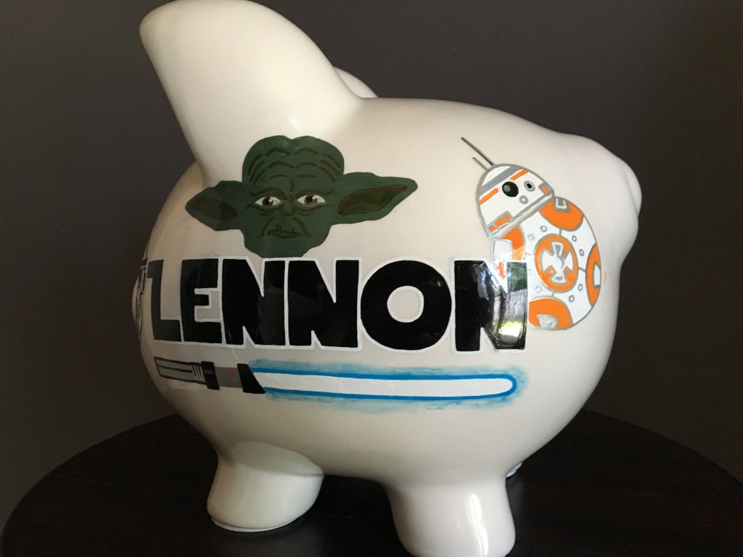 Star Wars Coin Banks Star Wars Personalized Handpainted Ceramic Piggy Bank