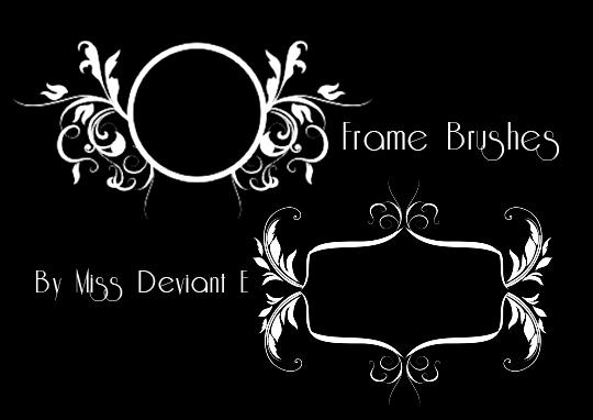 Frames Photoshop Brushes by Miss-deviantE on DeviantArt