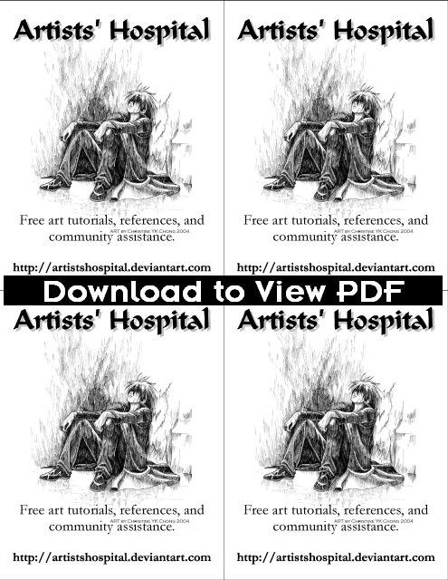 BnW Quarter Page 4 Up Flyer by ArtistsHospital on DeviantArt - 4up template