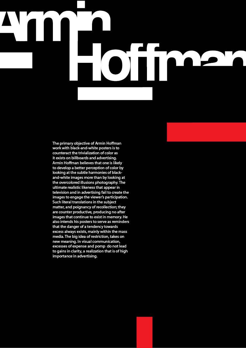 Graphic Designer Quote Wallpaper Armin Hoffman Poster By Designwise On Deviantart