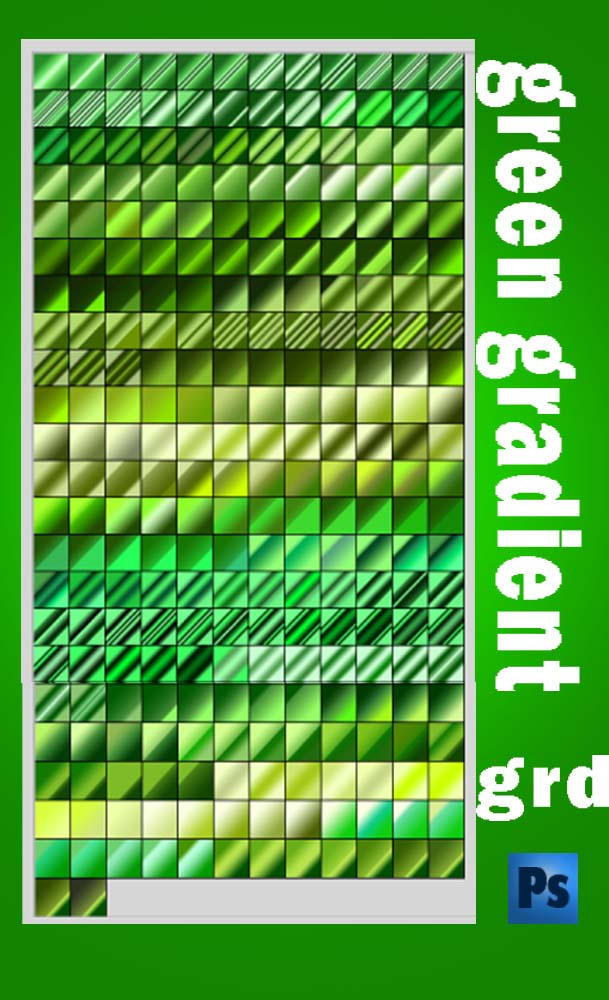 green gradient by roula33 on DeviantArt